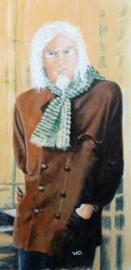 Portrait of a thin man