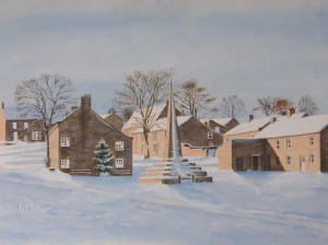 Winter, West Burton